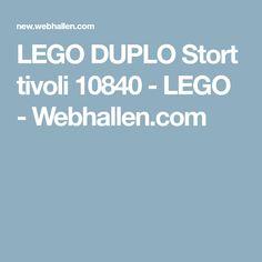 LEGO DUPLO Stort tivoli 10840 - LEGO - Webhallen.com