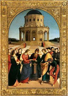 (Raphael) Raffaello Santi - Vermaehlung Mariae