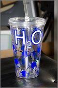 h20 molecule tumbler