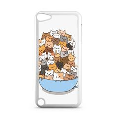 Because Cats on Bowl iPod Touch 5 Case