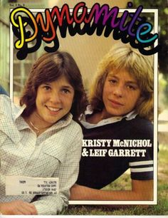 Leif Garrett, Kristy McNichol - Dynamite Magazine Cover [United States] (March 1979)
