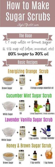 How to Make Sugar Scrubs by samanthasam