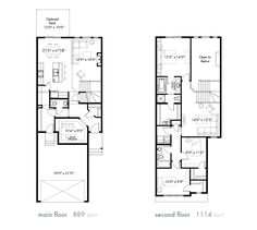 Maddy ii model floor plan by pacesetter homes edmonton the find a home homes by avi new home builder in calgary edmonton malvernweather Image collections