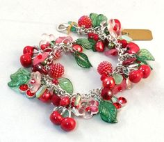 Cherry Blossom - Jewelry creation by Madalynne Homme