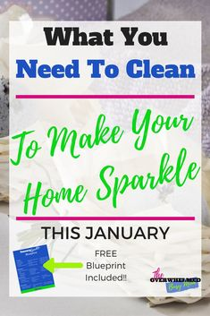 What you need to clean to make your home sparkle this January