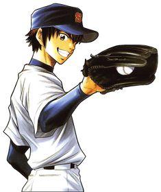 Eijun Sawamura form Ace Of Diamond (Daiya No A) in render version. Baseball Anime, Baseball Art, Miyuki Kazuya, Accel World, Art Reference Poses, Diamond Art, Sport, Anime Guys, Deviantart