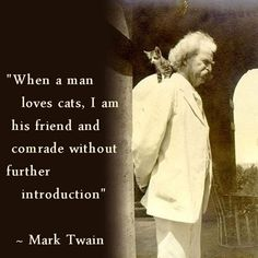 Mark Twain was an excellent judge of character http://www.petandvet.gr/ https://twitter.com/PetandVetCrete https://www.facebook.com/pages/Pet-Vet-Veterinary-Practice-Pet-Shop/141857383237
