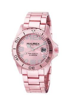 Haurex Women's Ink Aluminum Watch by Brands To Watch on @HauteLook