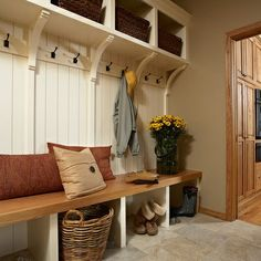 Love the brackets and shelf, hooks are great for kids