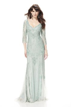 Image result for theia cloud blue evening gown