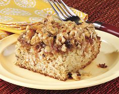 Banana Cake with Coconut Topping - Recipes at Penzeys Spices