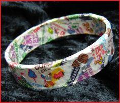 DumDum's Bracelet candy wrappers