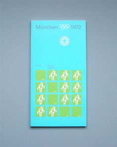 Munich 1972 Olympics Regulations Basketball - Otl Aicher & Rolf Müller