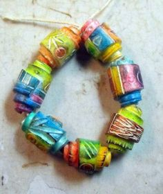 Rolled Beads