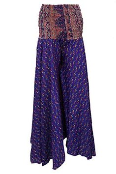 Women's Printed Maxi Skirt Blue Vintage Silk Sari Long Skirts Mogul Interior http://www.amazon.com/dp/B017IIK3KS/ref=cm_sw_r_pi_dp_ysmowb053R8DT