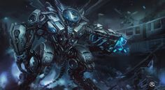 deviantART: More Like Mechanized Combat Suit by Tyvik
