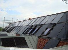 Thermische Solaranlage auf dem Dach. Montage durch die Jünemann & Gorath GmbH in Delmenhorst (27755) | Dachdecker.com