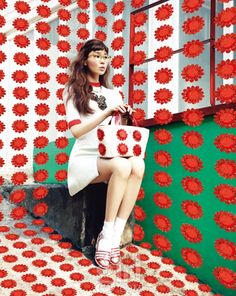 Jin Jungsun by Soo Jin for Vogue Girl Korea March 2013 via Korean Model