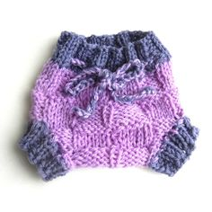 i love the weave on this!  NEWBORN Lavender Wool Soaker Diaper Cover by BrightRoseCreations, $25.00