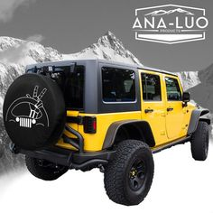 Choose from the drop down menu which color you want .  Most orders are made within a week and please allow 3-5 days for shipping. This spare tire cover is made to order fitting tires 29-35 for your truck, jeep, camper, VW, etc. it is made from a vinyl , and it is held on securely with elastic. you just wipe it clean with a mild soap and water, and then just follow up with a vinyl preservative like son of a gun or armor all for shiny clean use. DO NOT POWER WASH! These covers are awesome but…