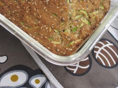 Limpa LCHF med zucchini, sesam och kanel + 15 tips på andra glutenfria bröd
