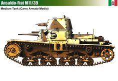 Ansaldo-Fiat M11/39 Medium Tank