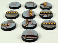 War World Scenics: Industrial Sci Fi Bases Discounted