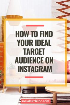 One of the biggest mistakes social media marketers make is failing to define their ideal target audience. Long story short, if everyone is your customer, no one is your customer. Oftentimes, people are worried that by finding a niche, they'll be ostracizi