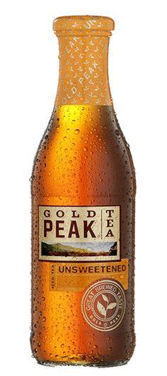 gold peak unsweetened black tea.... I know its odd but I love a good unsweetened black tea.  This one is very good