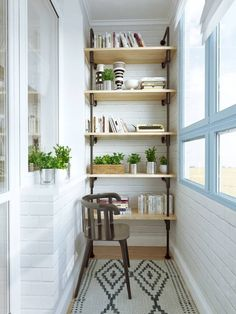 Enclosed spaces can always be decorated well. LIKE!