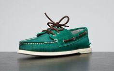 teal boat shoes.. pimp