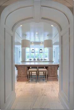 Modern Kitchen Entrance Arch Design Ramekitchen Com