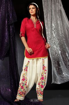 Patiala Salwar Kameez - love the pants!