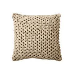 Threshold™ Jute Decorative Pillow Quick Information