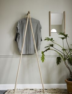 Trip Trap Georg coat stand oak