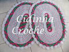 Croche- Jg De Tapetes Elos Coloridos -Passo A Passo- Parte 1/2 - YouTube