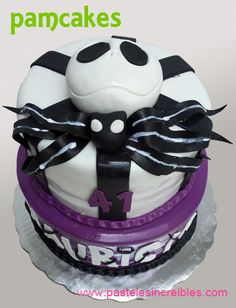 Jack Skellington, Pasteles Halloween, Skeleton, Birthday Cake, Desserts, Food, Deserts, Favors, Seasons