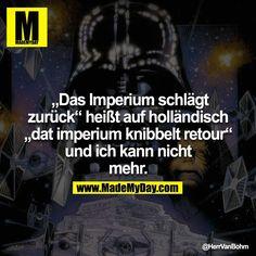 Das Imperium schlägt zurück... Holländisch :-)