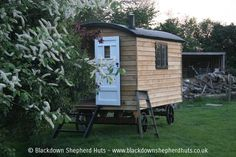 Photos of our high quality shepherds huts UK Blackdown Shepherd Huts, Shepherds Hut, Tiny Homes, Caravan, Patio, Luxury, Gallery, Building, Garden