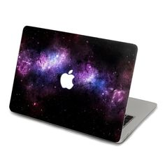 Purple Nebula Decal for Macbook Pro Air or Ipad by ohyeahdecal