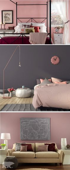 121 best modern style inspiration images in 2019 colors - Shades of pink for bedroom walls ...