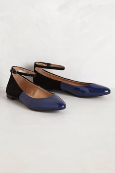 Isabel Patent Flats - anthropologie.com