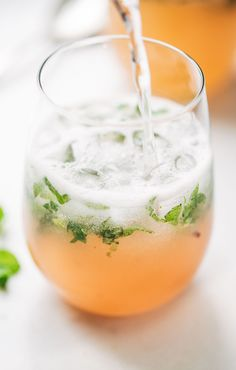 Grapefruit Mojito for Two