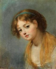 Jean-Baptiste Greuze - A Young Girl