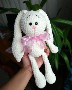 Amigurumi Crochet Plush Bunny PATTERN Soft toy pdf Stuffed | Etsy Bunny Plush, Crochet Patterns, Pink, Teddy Bear, Toys, Amigurumi, Tejidos, Activity Toys, Crochet Chart