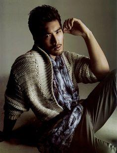 Hairy handsome Godfrey Gao of Taiwan. Dramas, Godfrey Gao, Hot Asian Men, Asian Boys, Asian Celebrities, Asian Actors, Celebs, Male Model, Beard No Mustache