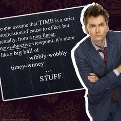 Truly my favorite Dr. Who quote