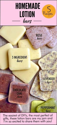 Whoever invented the lotion bar concept is genius, pure genius. I mean seriously, why would you ever use boring ole lotion again? Especially when there's an ultra moisturizing homemade lotion bar waiting for you to caress your skin with! The easiest of DIYs, the most perfect of gifts, these lotion bars are my jam and …