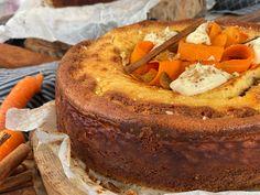 Cheesecake Καρότου - Lambros Vakiaros Camembert Cheese, Tart, Cheesecake, Lemon, Pie, Desserts, Food, Youtube, Torte