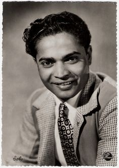 https://flic.kr/p/NXdeM3 | Sabu | Belgian postcard by Fotoprim, Bruxelles, no. 6. Photo: Universal Film.    British Indian actor Sabu (1924-1963) had 'a smile as broad as the Ganges and charm enough to lure the stripes off a tiger'. He became an instant star with the release of the British film Elephant Boy in 1937. His succession of tropical Technicolor treats delighted audiences before and during WW II.  For more postcards, a bio and clips check out our blog European Film Star Postcards…